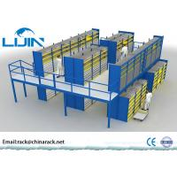 Wholesale Heavy Duty Rack Supported Mezzanine System Q235 Steel Material AS4084 Approval from china suppliers
