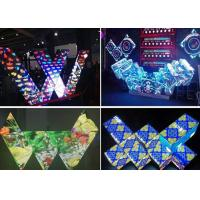 Wholesale Gorgeous Various Shape Dj Booth LED Screen Adjustable Brightness Full Color from china suppliers
