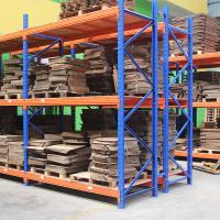 Wholesale 2000kg Blue / Orange pallet heavy duty shelving , customized stores racking system from china suppliers
