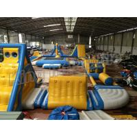 Wholesale Giant Inflatable Water Parks , Inflatable Aqua Park Equipment  For Adults And Kids from china suppliers