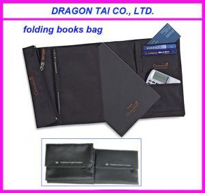 Wholesale Nylon folding book bag, mini book bag, foldable school bag from china suppliers