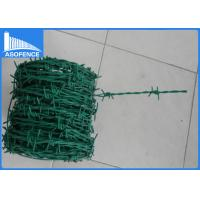 Wholesale High Security Stainless Steel Razor Wire Roll , Single /Double Security Barbed Wire from china suppliers