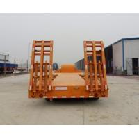 Wholesale 70t 60t 80t brand new china  lowbed Semi-trailer 13m 16m with 4-axles excavator trailer. excavator trailer from china suppliers