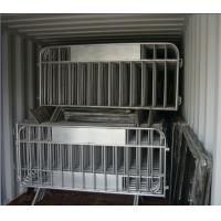 Wholesale Interlocking Crowd Control Barricades for Large and Small Events Hot galvanized Removable road crowd control barricades from china suppliers