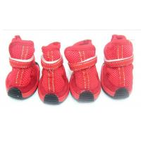 Wholesale Casual pet dog shoes with PU / cotton and spandex for small animals from china suppliers