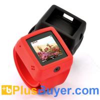 Wholesale Snap-On - Quad Band Watch Phone with Changeable Straps - Red from china suppliers