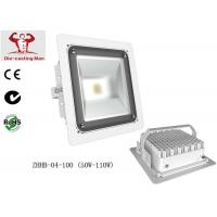 Wholesale White Waterproof 100 W COB Led Street Light Fixtures High Lumen For Gas Station from china suppliers
