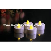 Wholesale Indoor Outdoor Decorative Flameless LED Tealight Candle with Flickering Candle Flame from china suppliers