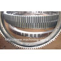 Wholesale Polishing Large Diameter Engine Ring Gear / Industrial Custom Spur Gears For Machinery from china suppliers