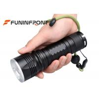 Wholesale 5 Modes Long Exposure Distance Cree T6 Zoom LED Flashlight Using 26650 Battery from china suppliers