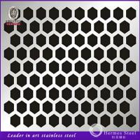 Wholesale 201 304 Round Hole Perforated Stainless Steel Sheet Foshan Manufacturer from china suppliers