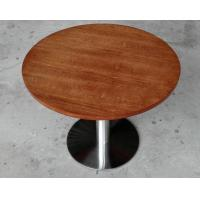 Wholesale Durable Wooden Dining Room Tables Polished Metal For Restaurant from china suppliers