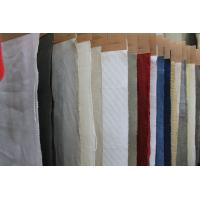 Wholesale Breathable Organic Cotton and Linen Mix Fabric , Washed Upholstery Cloth 20Ne * 20Ne from china suppliers