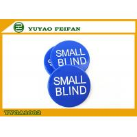Wholesale Silk Printing Small Blind Button ABS Poker Game Button 30 x 3 Mm from china suppliers