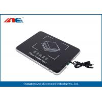 Wholesale Square USB Desktop RFID Reader For Books Management Metal Shielding Design from china suppliers