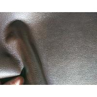 "Quality 54"" Width Leather Car Upholstery Fabric , Faux Leather Fabric For Upholstery for sale"