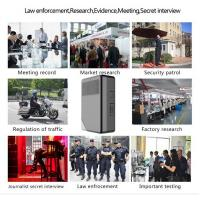 Buy cheap 1080P FULL HD Wifi Police Wearing Body Cameras 10 Hours Recording from wholesalers