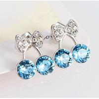 Wholesale Ref No.: 440226 Mini Cherry Earring opal silver jewellery european antique jewelry from china suppliers