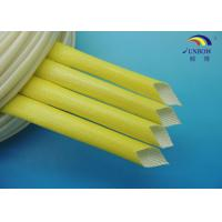 Wholesale Wire Insulation Resin Coated Acrylic Fiberglass Sleeving for F Class Electrical Motor 4.0KV from china suppliers