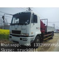 Buy cheap CAMC 4*2 8ton-12ton truck crane for sale from wholesalers