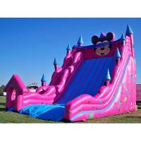 Wholesale Inflatable Amusement Park With Big Inflatable Slide For Adult / Kids from china suppliers