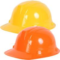 Wholesale Yellow Orange Plastic Play Construction Hard Hats , Safety Helmet Hard Hat from china suppliers