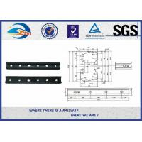 Wholesale Forged Railroad Rail Fish Plate Joint Bar With 4 Holes or 6 holes from china suppliers