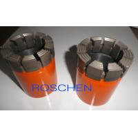 Quality Impregnate Diamond Core Drill Bits , Impregnate Diamond Bits For Rock Drilling for sale