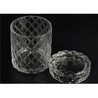 Quality Modern Soda Lime Glass Tea Light Candle Holders Small Heat Proof for sale