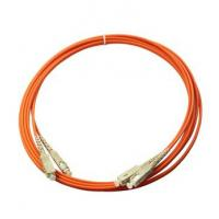 Wholesale Multimode orange color PVC out  jacket  Good Repeatability Fibre Optic Patch Cable from china suppliers