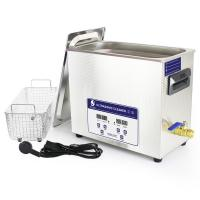 Wholesale Sus 304 Touch Key 6.5l Table Top Ultrasonic Cleaner For Spare Parts Cleaning from china suppliers