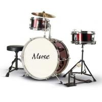 Wholesale Custom Made 3 Piece Junior Acoustic Kids Drum Set PVC Series A364S-806 from china suppliers