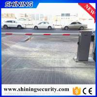Quality universal remote control parking boom barrier gates with  125khz rfid reader for sale