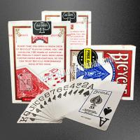 Wholesale USA Bicycle Jumbo Paper Gambling Props / Poker Size Two Jumbo Index Playing Cards from china suppliers