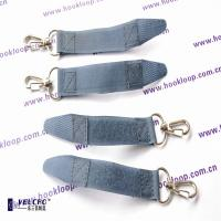 Wholesale Customised Logo Thick Velcro Wrap Straps , Velcro Hanging Straps With Special Buckle from china suppliers