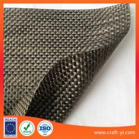 Wholesale Golden and black mix color Textilene 2X2 Outdoor sun chair Beach chair leisure chair fabrics from china suppliers