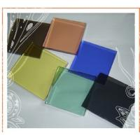 Wholesale heat reflective color decorated toughened building glass in windows and doors from china suppliers