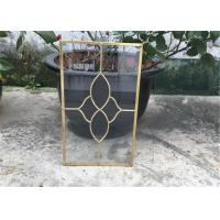 Wholesale Clear Cabinet Door Glass Panels , Various Shape Decorative Glass For Kitchen Cabinets from china suppliers