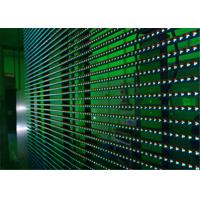 Wholesale Flexible LED Video Display Screens , Strips Transparent Wall Facades Screens from china suppliers
