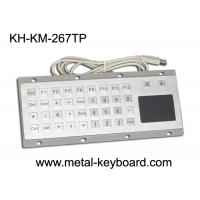 Wholesale Custom Mine Vandal proof Metal Panel Mount Keyboard with Touchpad Mouse from china suppliers