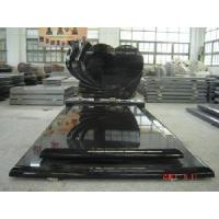 Wholesale Beautiful Black Granite Tombstone/ Monuments (GM002) from china suppliers
