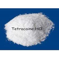 Quality Hot Selling Local Anesthetical Drugs Tetracaine / Tetracaine HCl CAS 94-24-6 for Pain Killer for sale