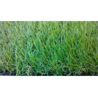Quality Green 37mm PE Garden Artificial Grass Double Stem Shape UV Resistance for sale