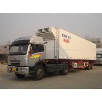 Wholesale Refrigerated Semi-trailer, Reefer Trailers, Reefer Vans, Vans Trailers, 2-Axles Refrigerated Trailer from china suppliers