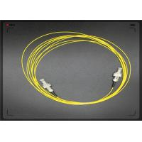 Wholesale ST / PC - ST / PC Optical Fiber Patch Cord LSZH With Single Mode Fiber Optic Cable from china suppliers