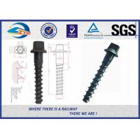 Wholesale Ss8 Railway Spike Q235 Sleeper Screw Spike SGS standard ISO898-1 from china suppliers