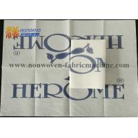 Wholesale Biodegradable Linen Feel Paper Napkins , Linen Effect Wedding Paper Napkins from china suppliers