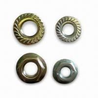 Wholesale Hex Serrated Flange Nuts with Electrical Galvanized Surface from china suppliers