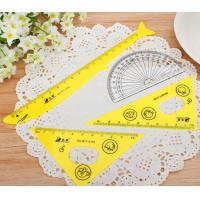 Wholesale Sale High Quality Plastic Big Set Square 18cm Triangle Scale Ruler from china suppliers