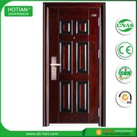 Wholesale security steel door interior entrance main gate design steel grill door HOT-010 from china suppliers